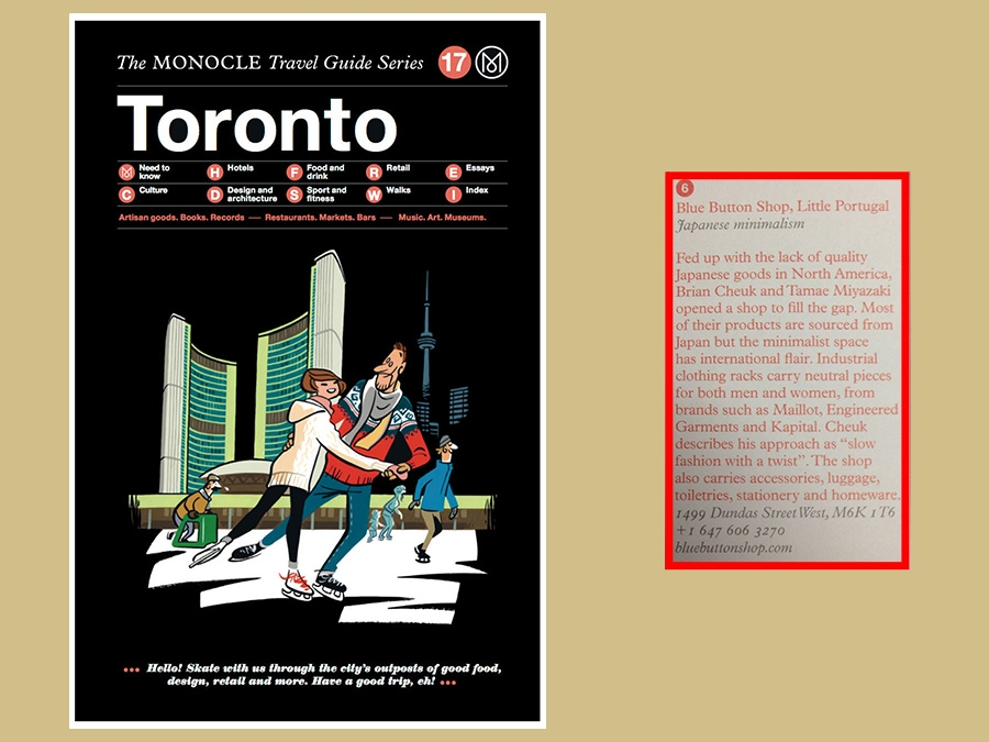 fe16d8fe60d Monocle Travel Guide - Toronto Edition