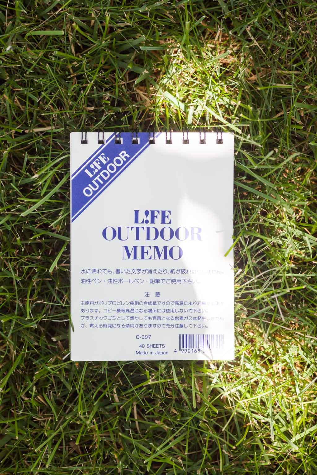 Outdoor Memo - Plain