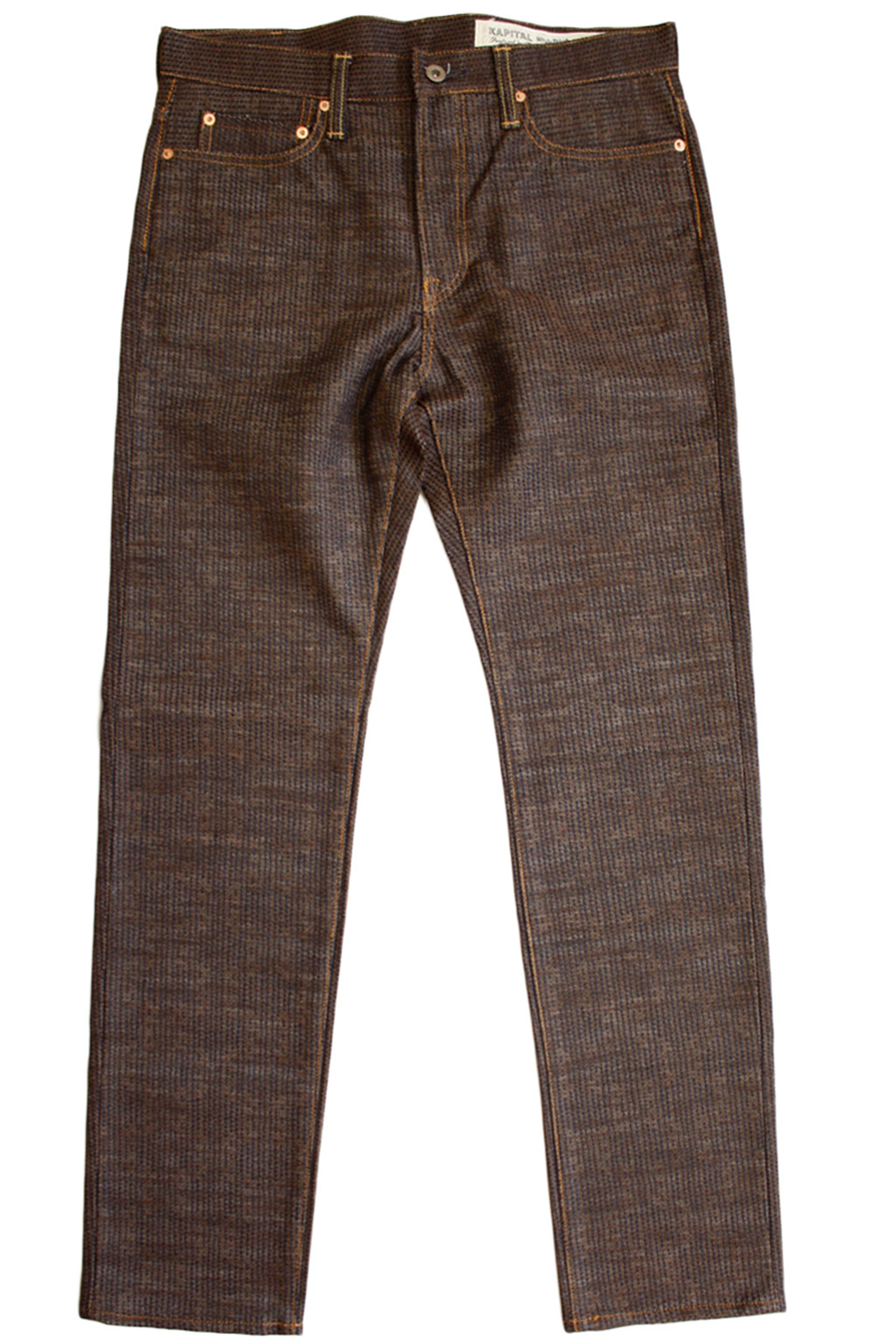 Century Denim 5P Stone N5S - Brown