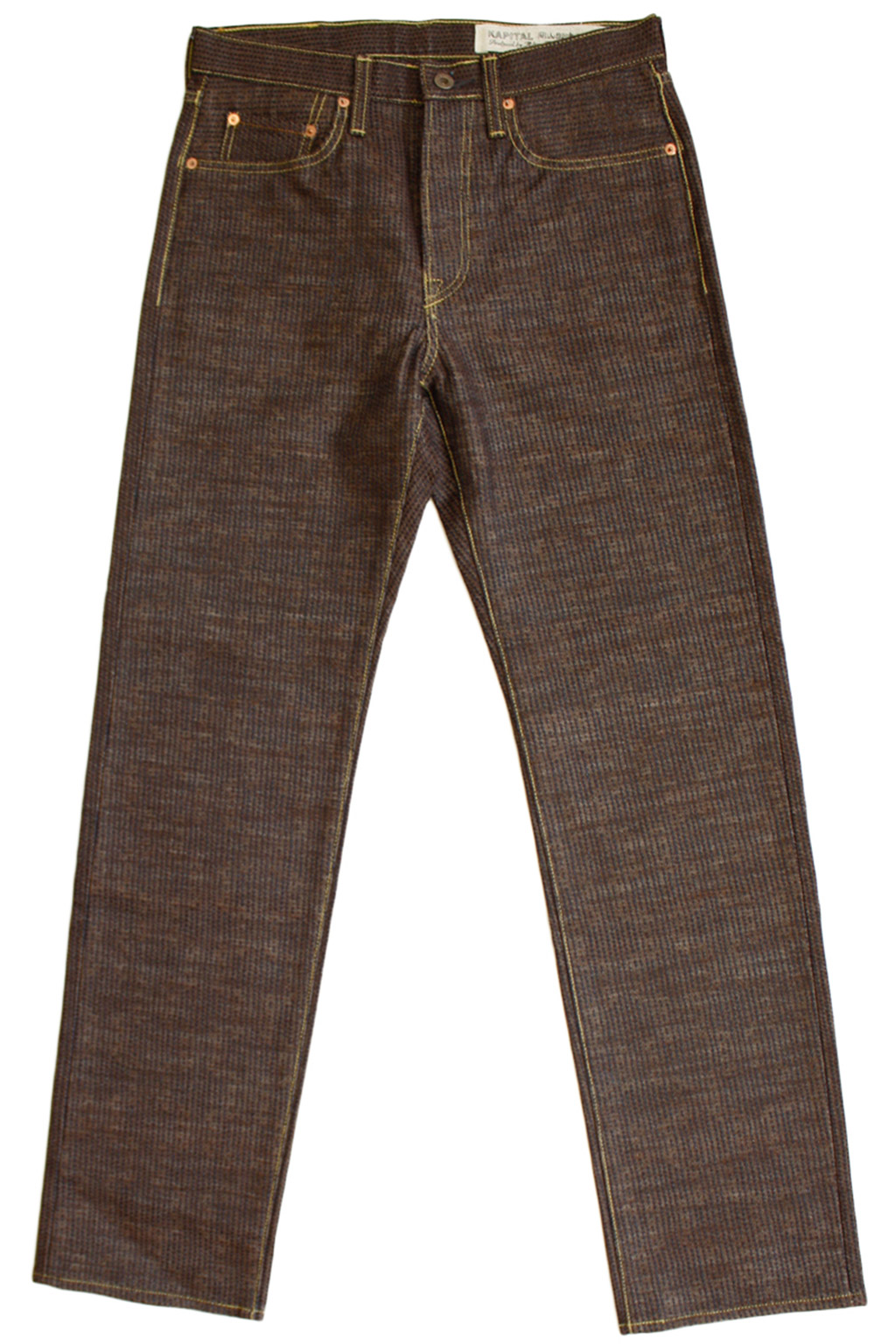 Century Denim 5P CISCO N5S - Brown