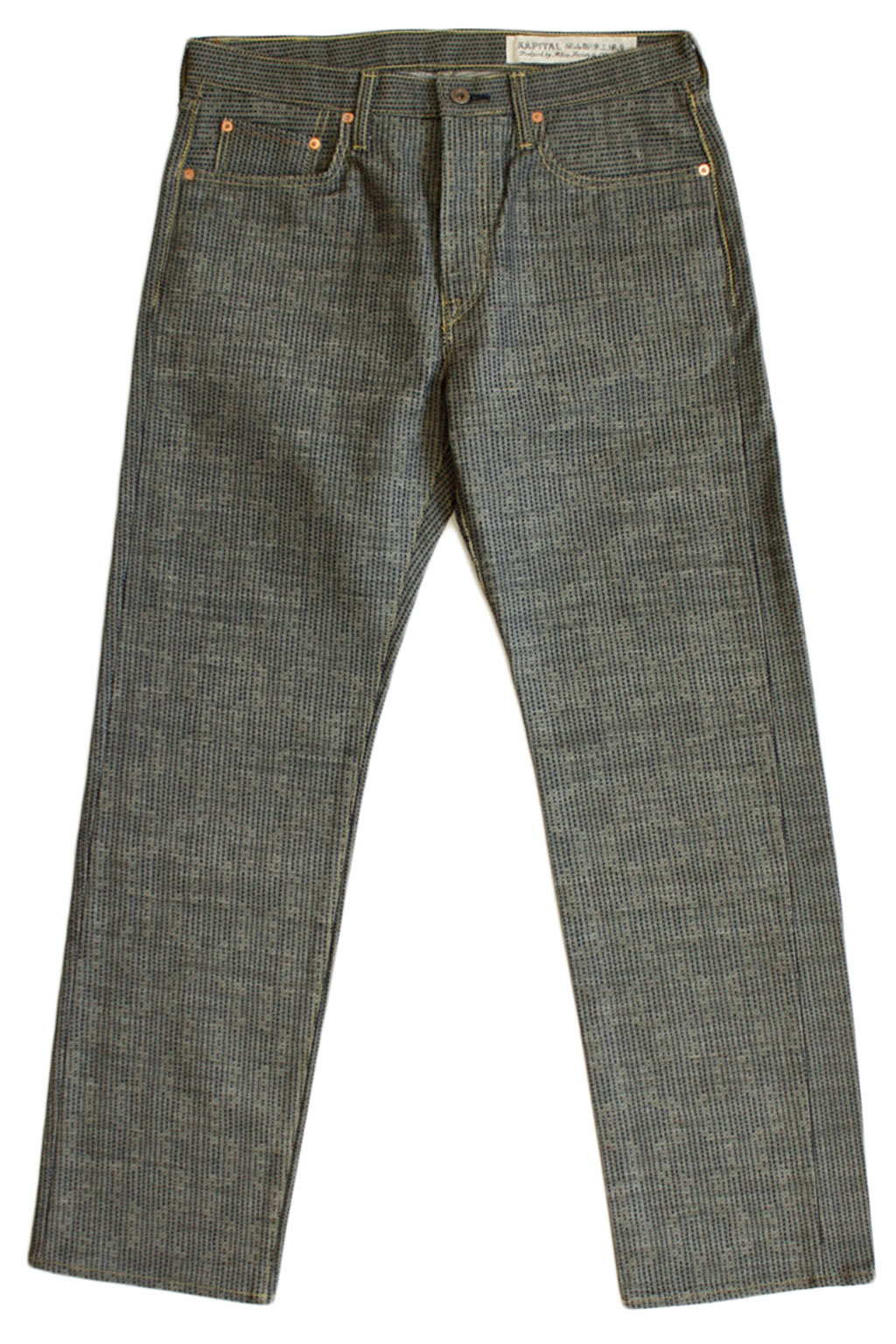 Century Denim 5P CISCO N7S - Grey