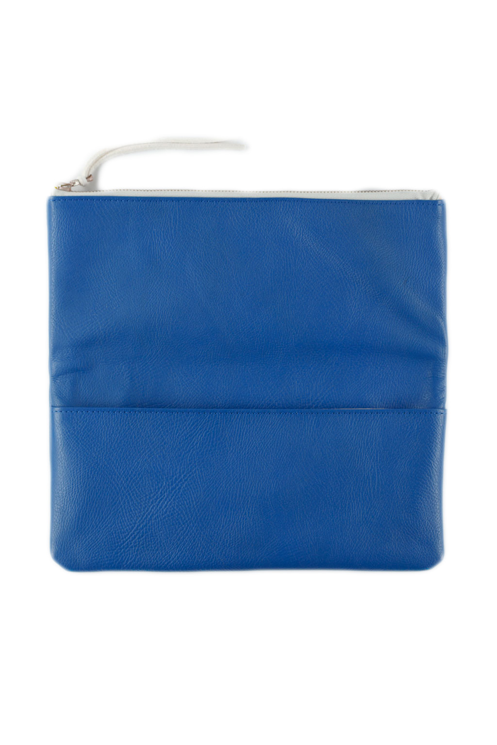 Leather Pouch Large - Blue