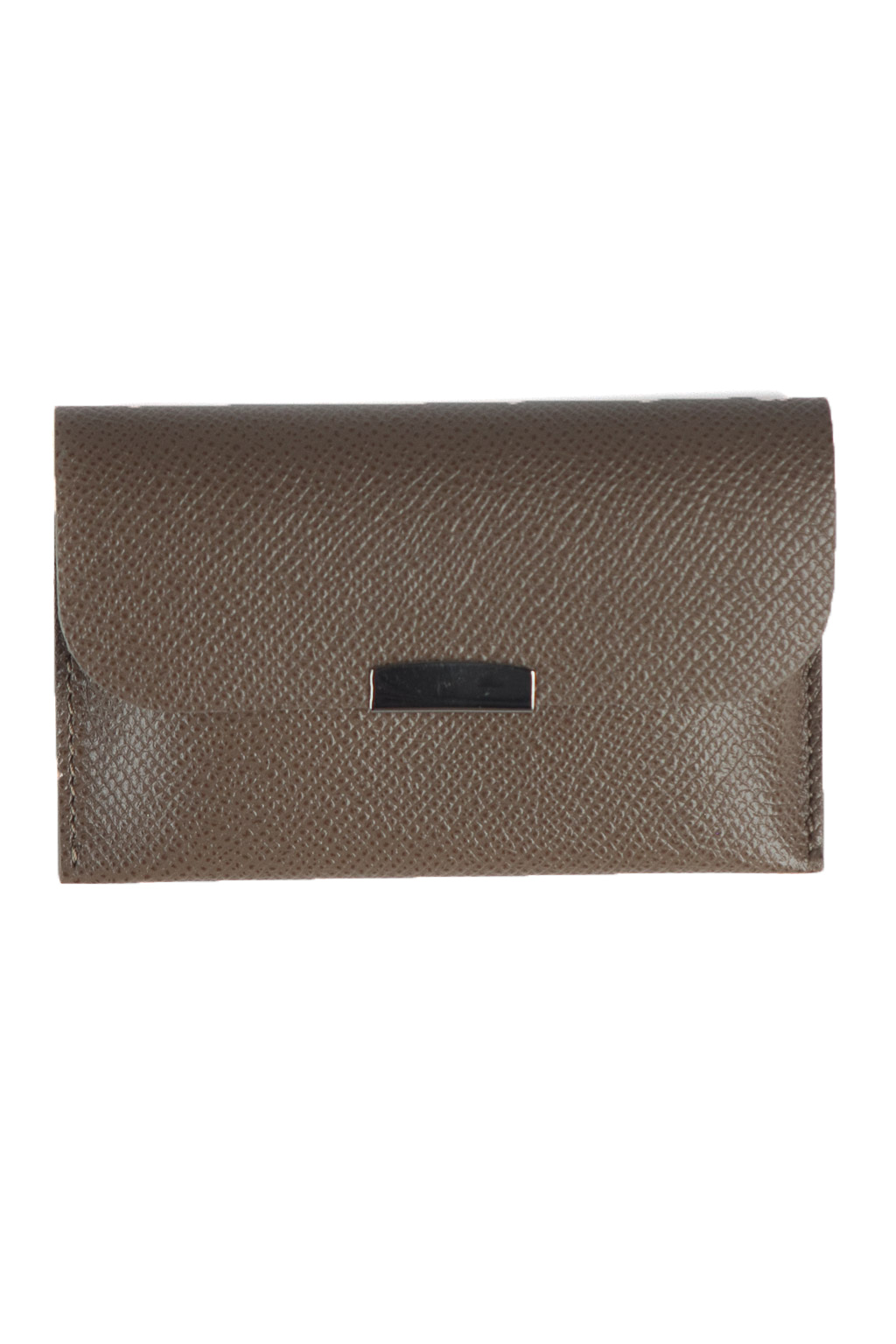 Card Case Calf Leather - Grey