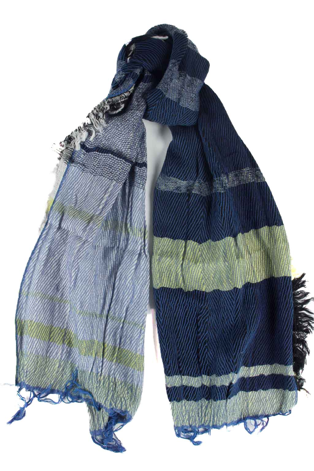 Wool x Cotton Scarf - Medium
