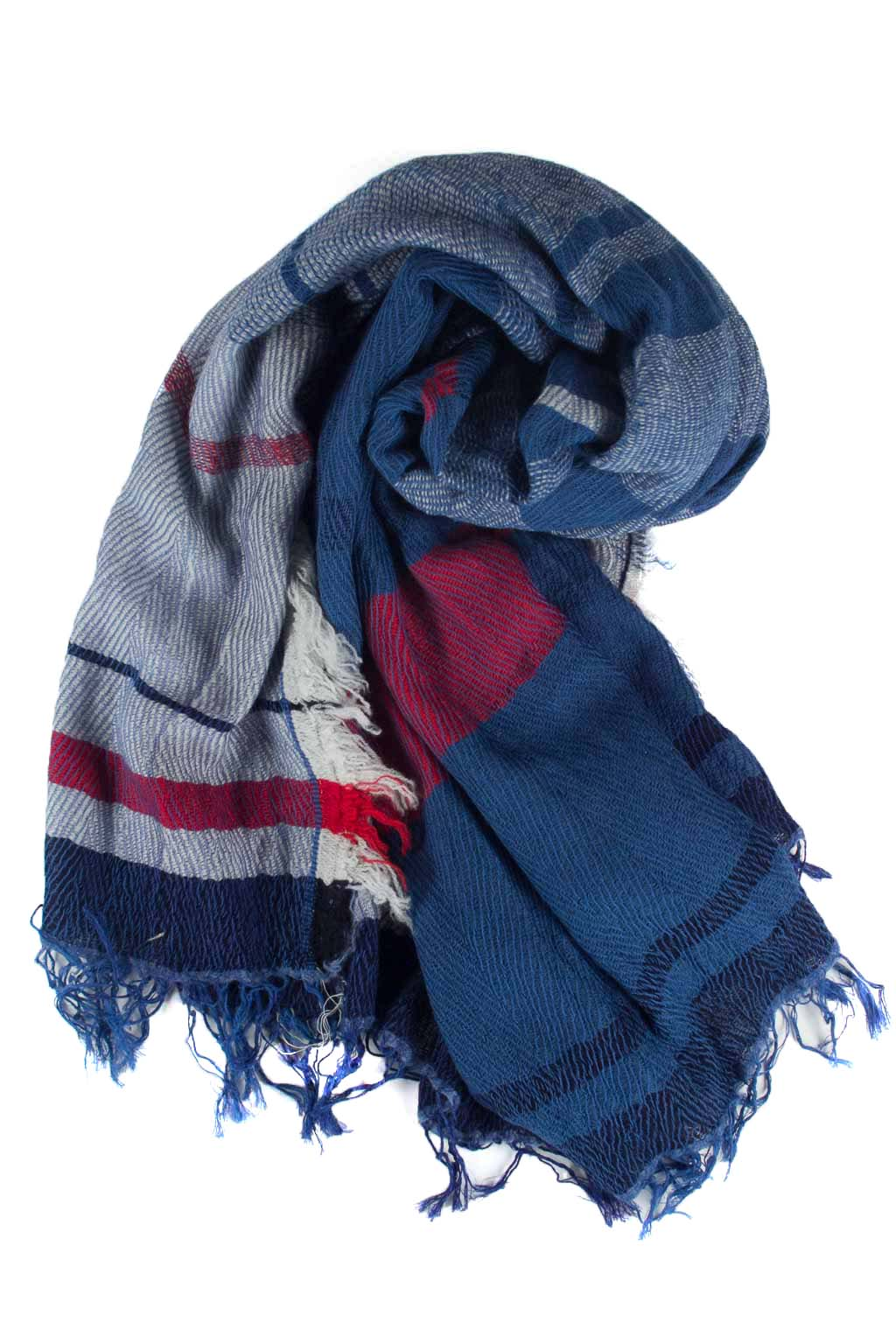Wool x Cotton Scarf - Large