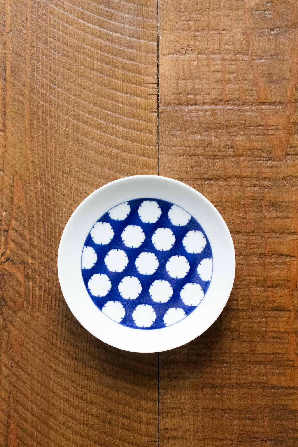 Komon Small Plate -Snow