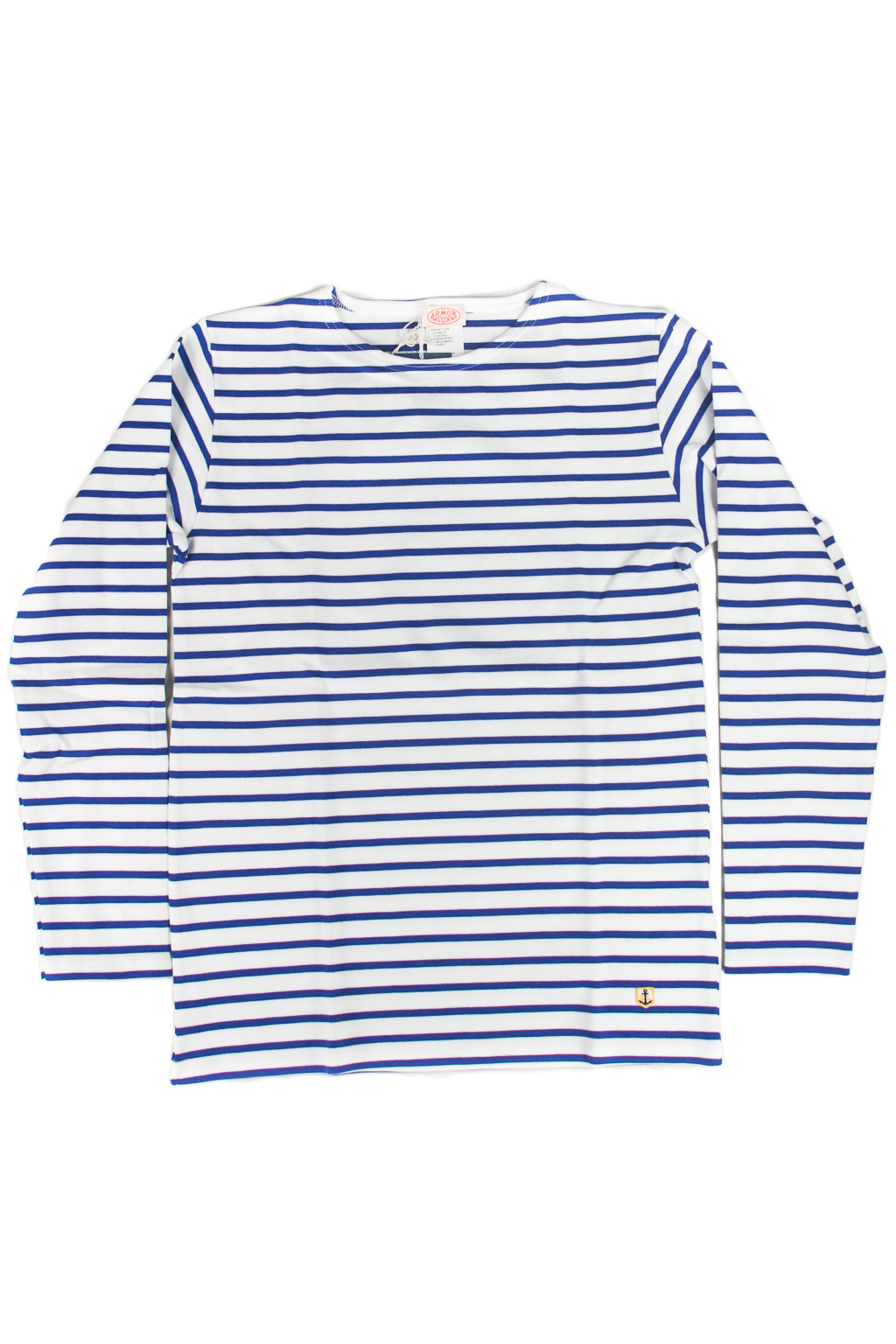 Heritage Breton Shirt White/ Star Blue