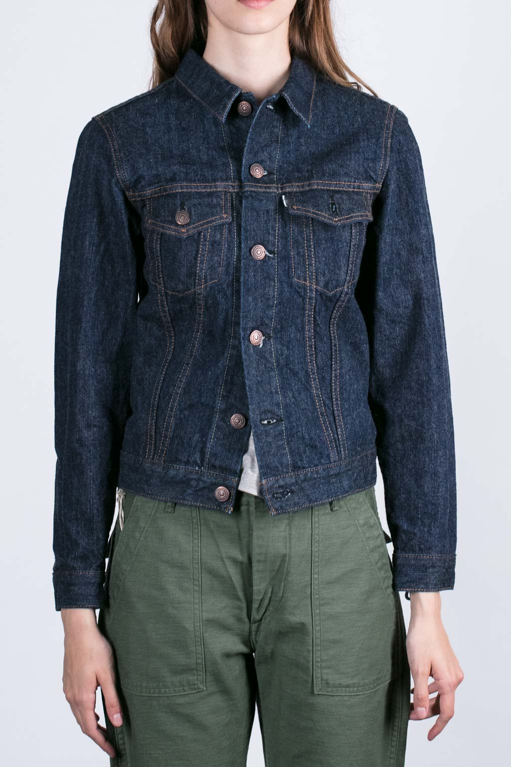 Woman Denim Jacket - 1 Wash