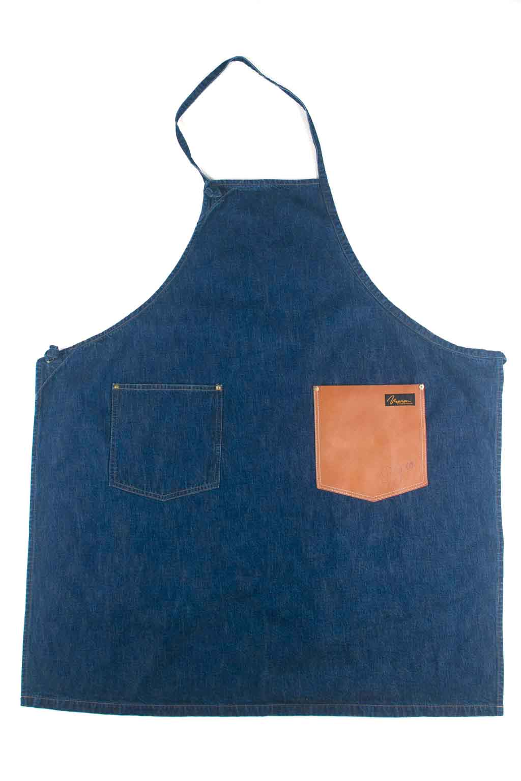 Denim Craft Apron - Indigo