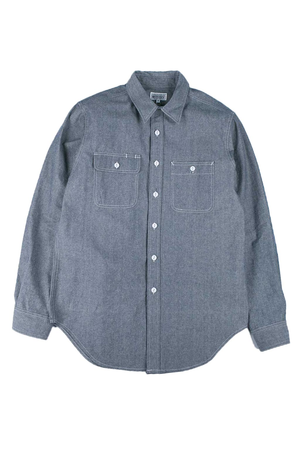 Utility Shirt - Indigo Heavy Cotton Chambray
