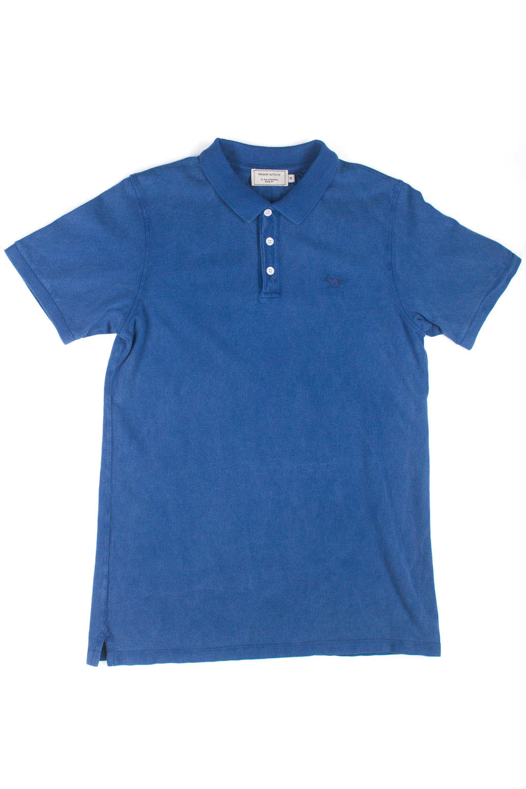 Light Pique Polo - Blue