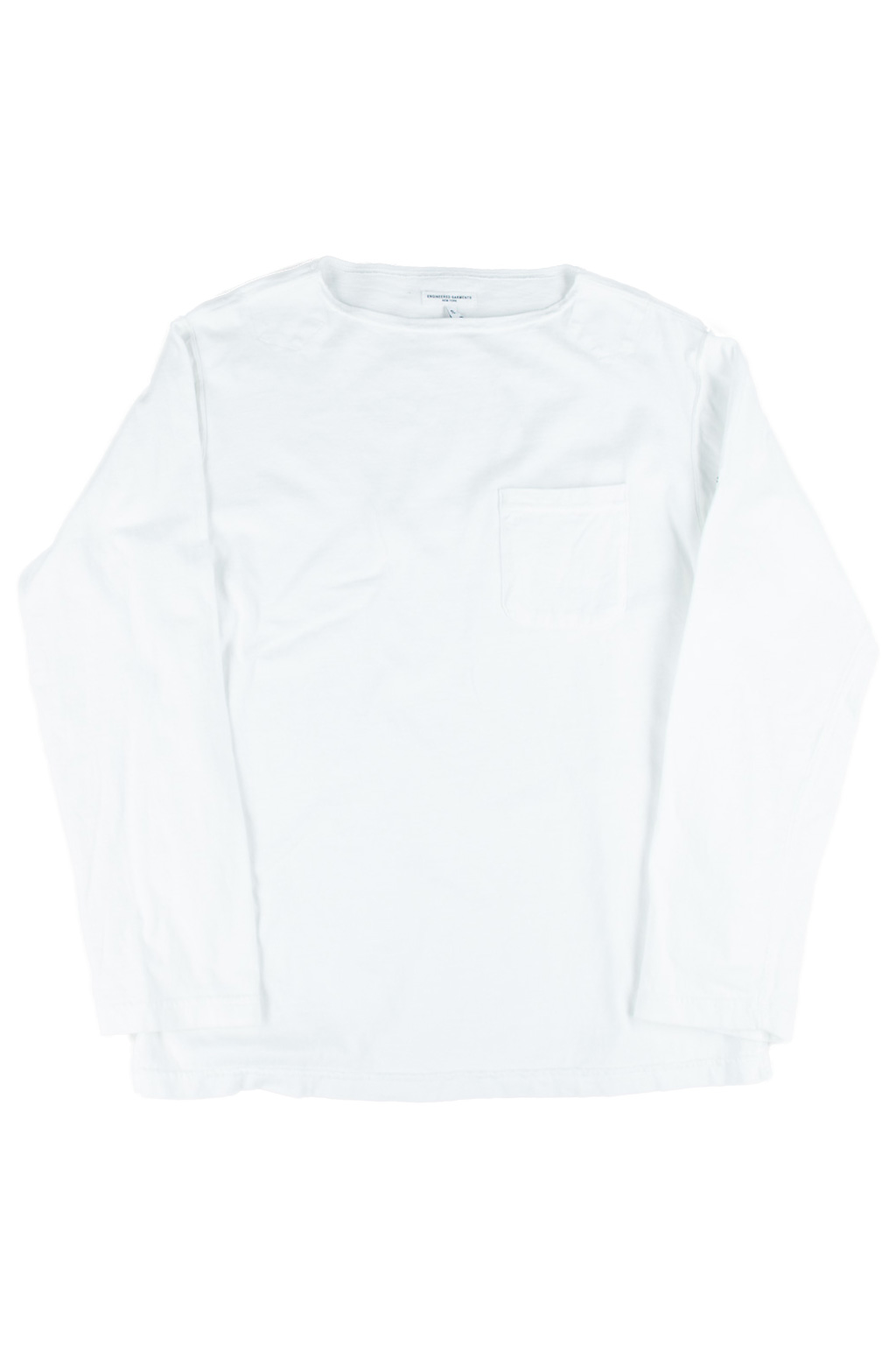 Bask Shirt - White Cotton Jersey
