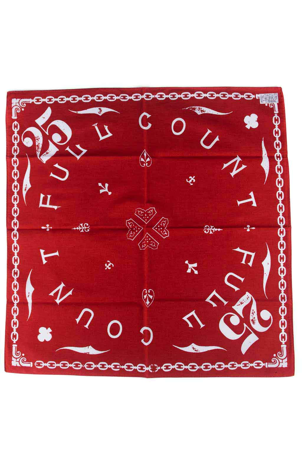 Bandanna (Fullcount Jeeans Makers) - RED