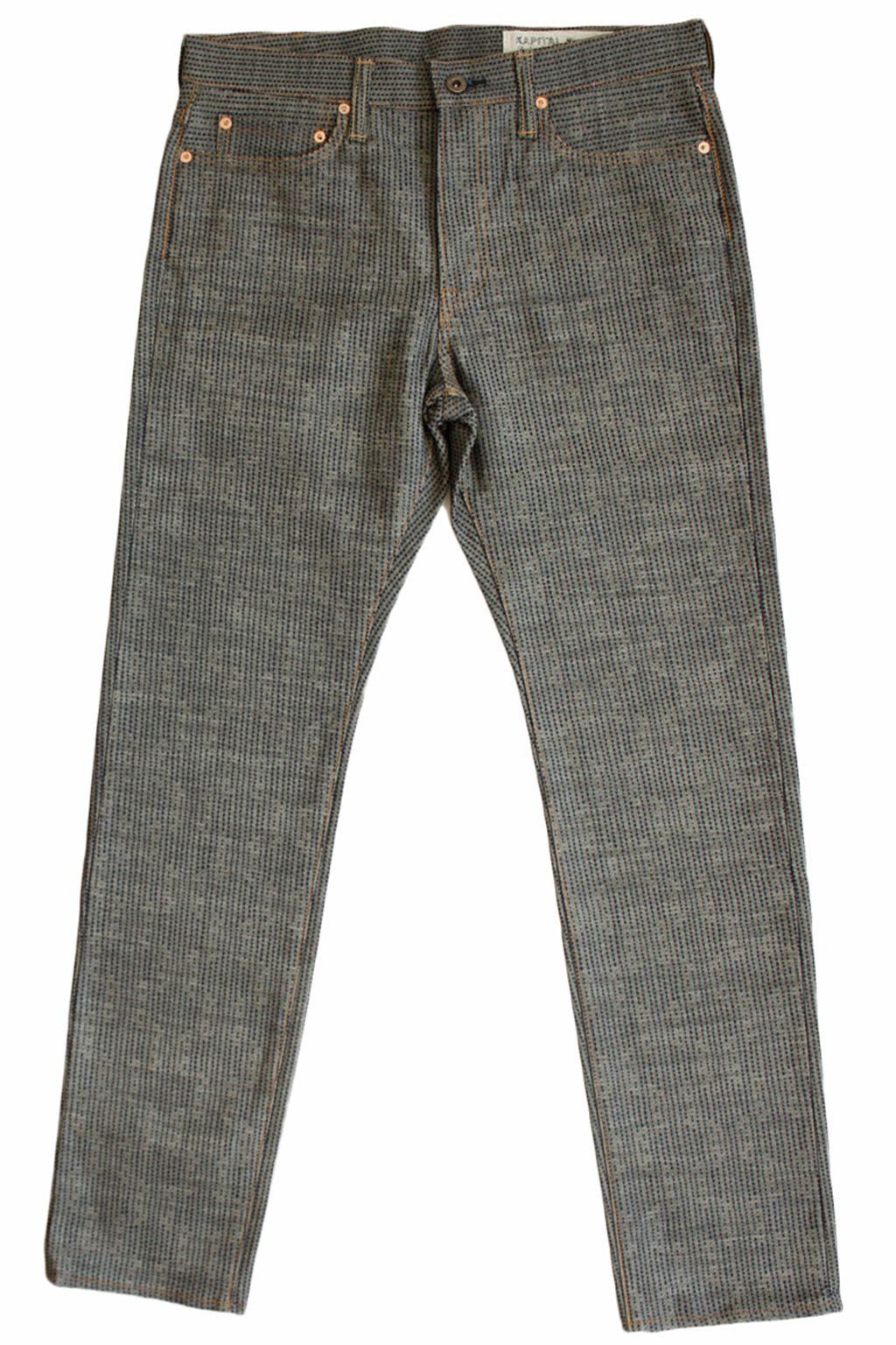 Kapital Century Denim 5P Stone N7S - Grey
