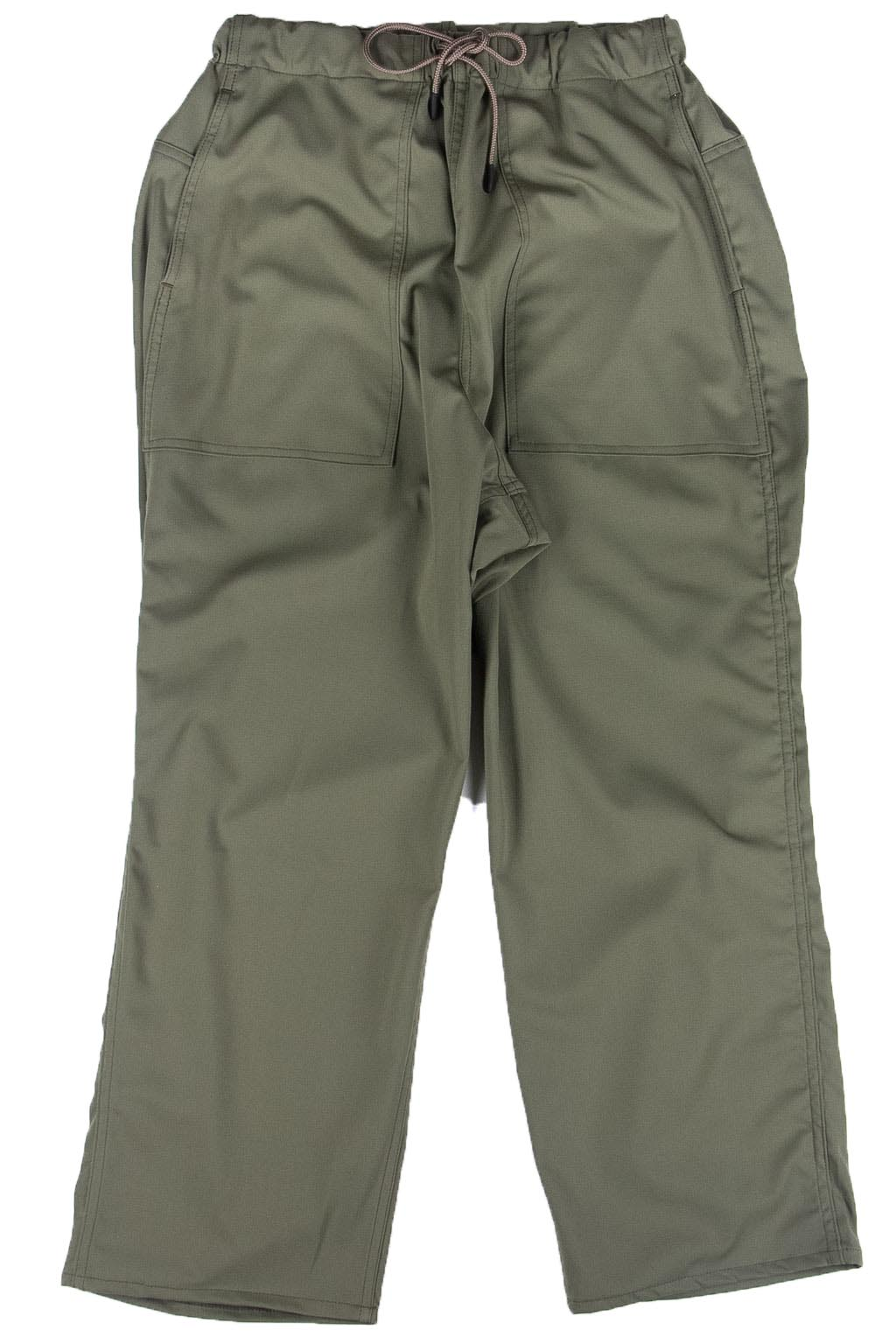 Manual Alphabet Easy Pants - Olive