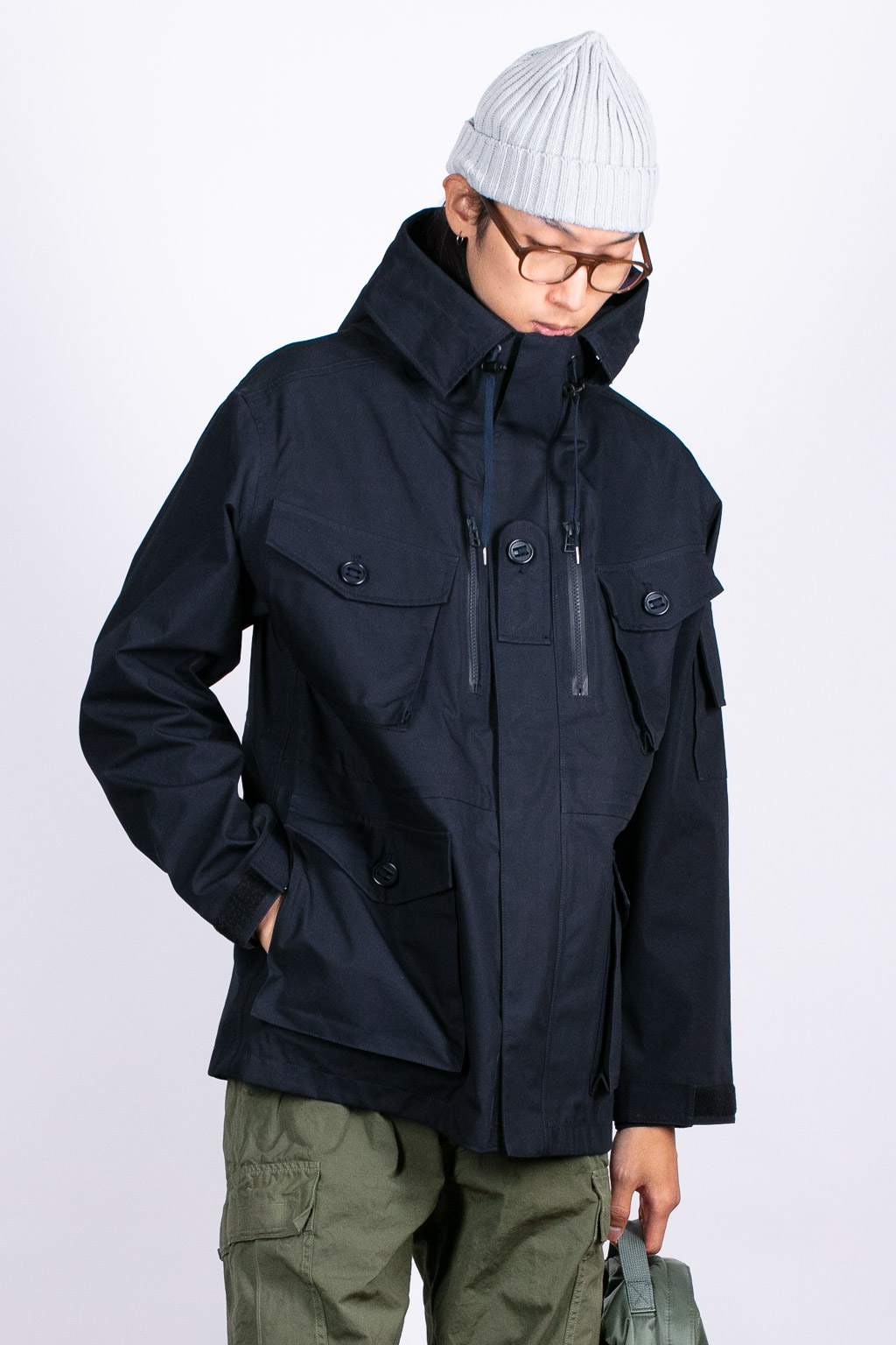Nanamica GORE-TEX Cruiser Jacket - Dark Navy