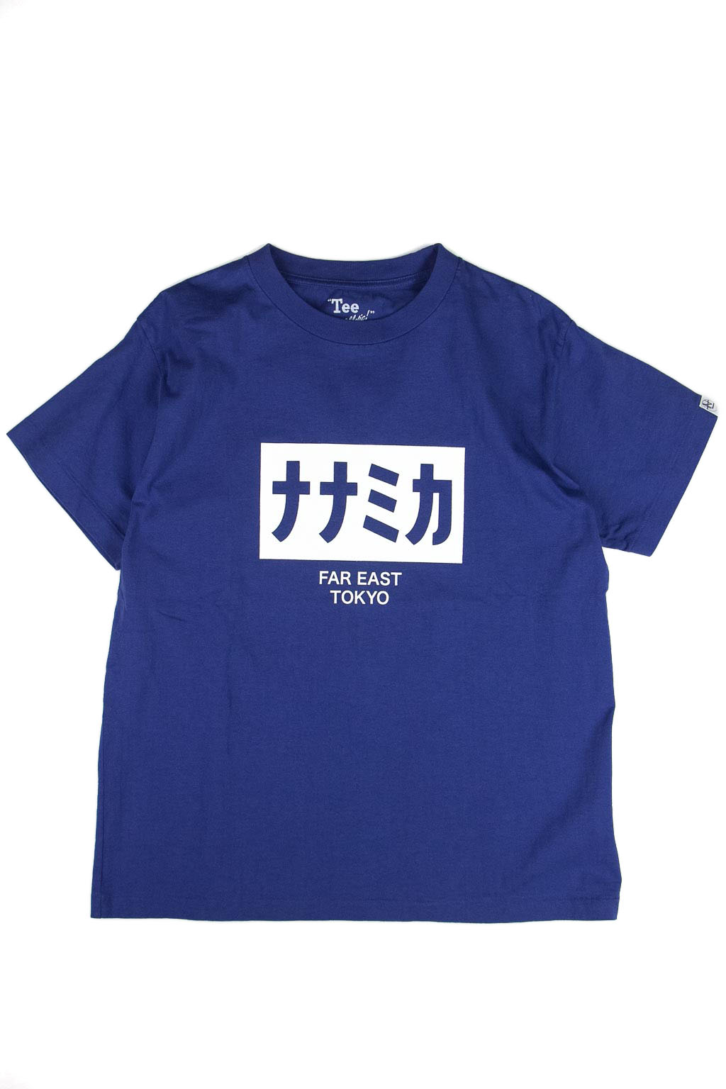 Nanamica nanamican H S Graphic Tee - Blue