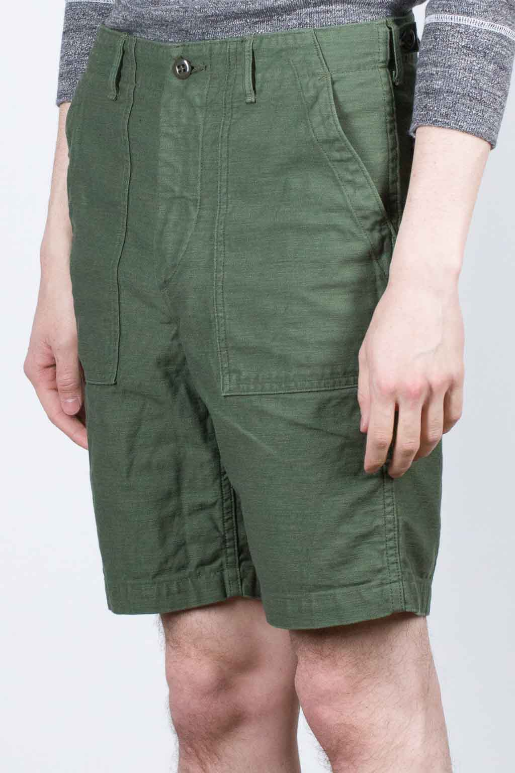 OrSlow Fatigue Shorts - Olive
