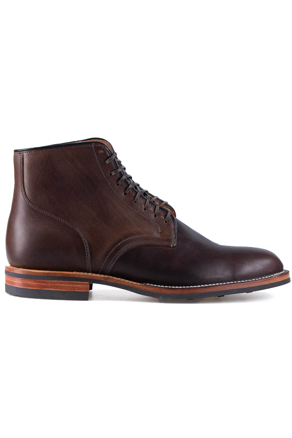 Viberg Service Boot- CF Stead Stone Oiled Calf